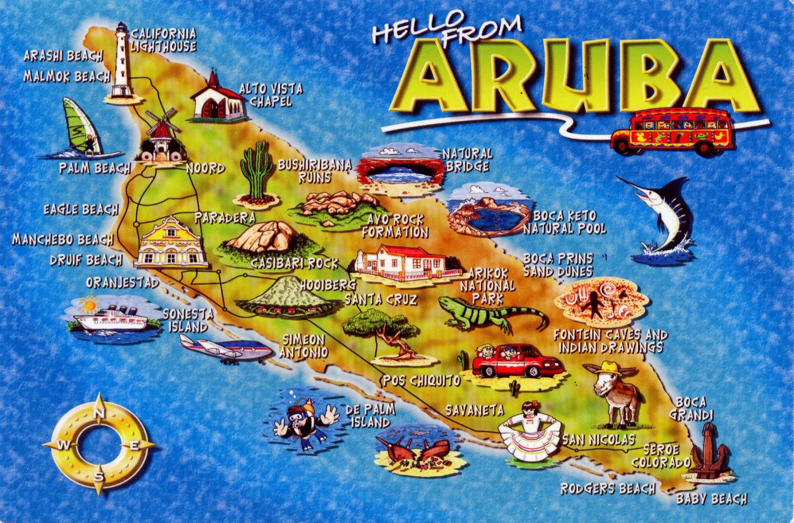 aruba maps caribbean islands, circuit diagram, where is aruba located on world map